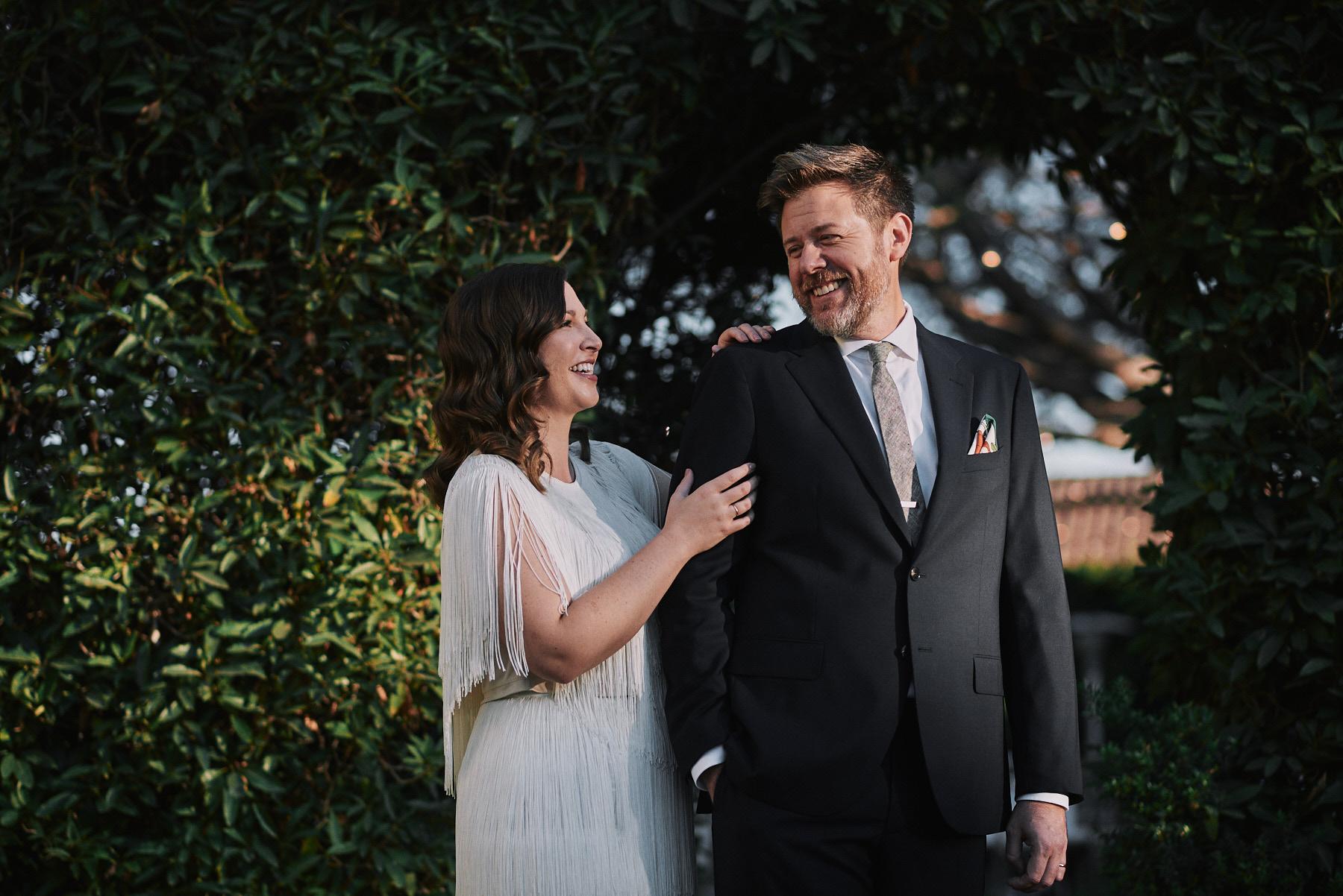Riviera Mansion wedding portrait