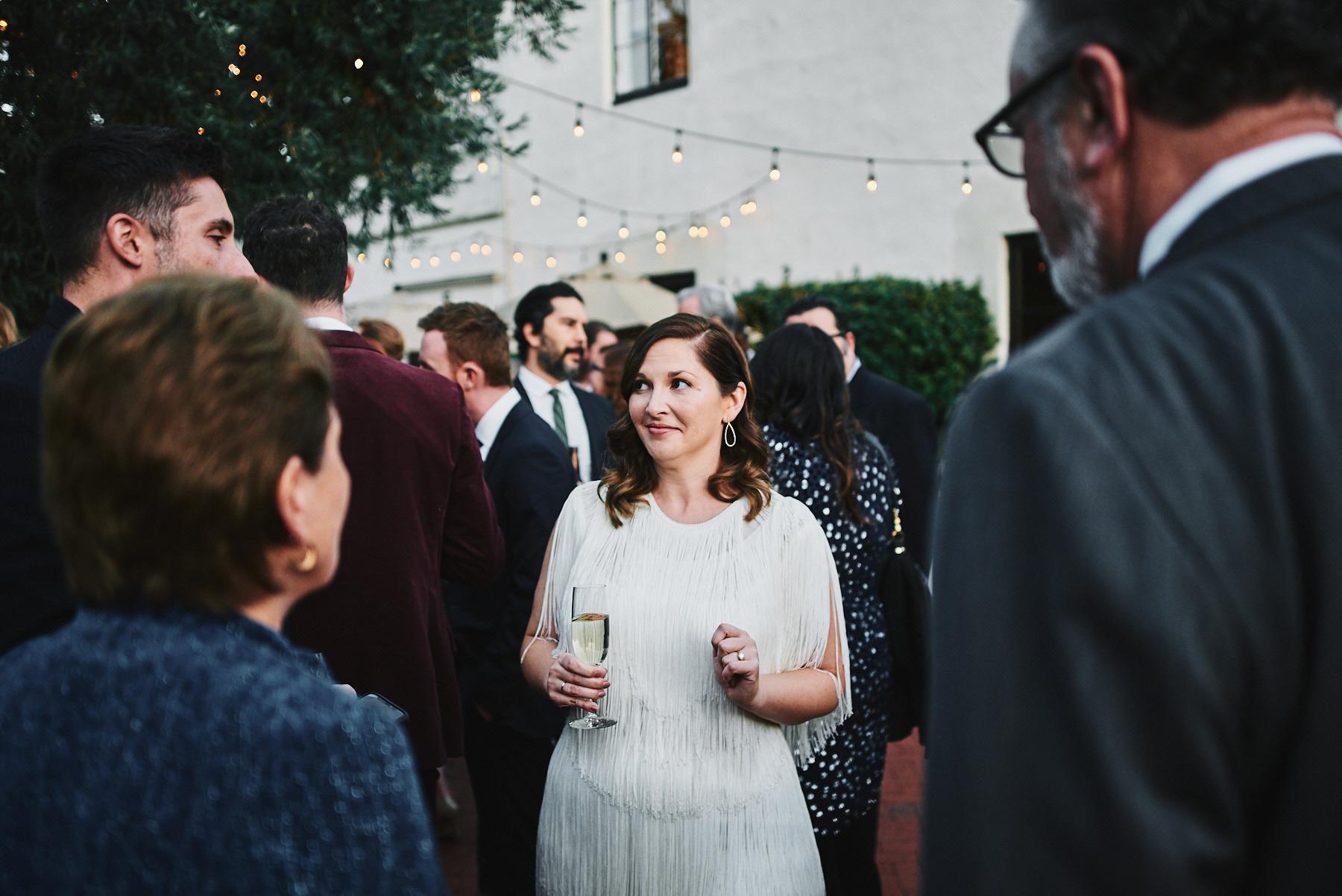 Riviera Mansion wedding cocktail hour